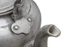 Aluminum kruka Fotografering för Bildbyråer