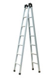 Aluminum ladder Stock Images