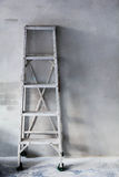 Aluminum ladder Royalty Free Stock Images