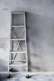 Aluminum ladder Royalty Free Stock Images