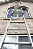 Aluminum Ladder royalty free stock photography