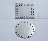 aluminum lappar arkivbild