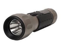 Aluminum LED Flashlight Stock Photography