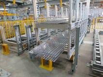 Aluminum linjer materielkugge Royaltyfria Foton