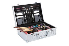 Aluminum make up case Stock Images