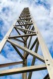 Aluminum mast Royaltyfria Bilder