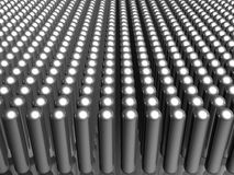 Aluminum material pattern background Royalty Free Stock Image