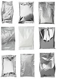 Aluminum metal bag Stock Photos