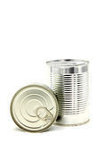 Aluminum metal can Royalty Free Stock Image