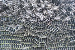 Aluminum metal Royalty Free Stock Photo