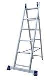Aluminum metal step-ladder Stock Photos