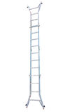Aluminum metal step-ladder Royalty Free Stock Photo