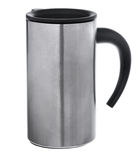 Aluminum mug Royalty Free Stock Photo