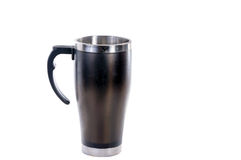 Aluminum mug Stock Images