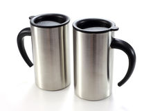 Aluminum mug Royalty Free Stock Photography
