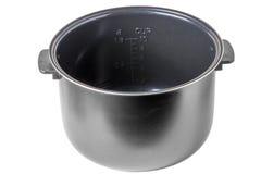 Aluminum pan with ceramic coating Stock Photos