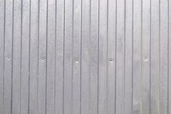 Aluminum panels background Stock Images