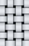 Aluminum pattern Royalty Free Stock Image