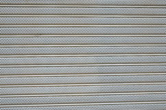 Aluminum perforated. Aluminum perforated texture for architecture Royalty Free Stock Photos