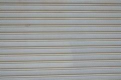 Aluminum perforated. Royalty Free Stock Photos