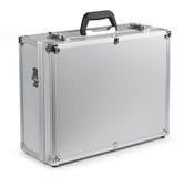 aluminum portföljsäkerhet Arkivbilder