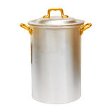 Aluminum pot Royalty Free Stock Image