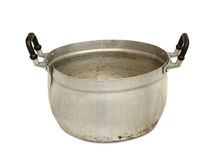 Aluminum pot Royalty Free Stock Photos