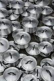 Aluminum pot Royalty Free Stock Photography