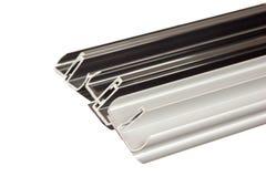 aluminum profil royaltyfria foton