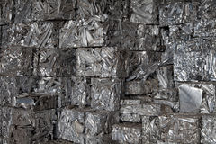 Aluminum recycling Royalty Free Stock Photography