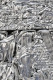 Aluminum recycling Stock Images