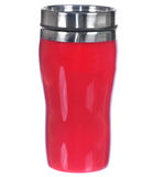 Aluminum red mug Royalty Free Stock Image