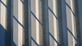 Aluminum roof texture Stock Image