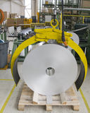 Aluminum rulle Royaltyfri Bild