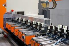 Aluminum sawing Royalty Free Stock Photo
