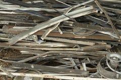 Aluminum scrap Royalty Free Stock Images