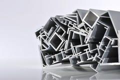 Aluminum sektions- remsor Royaltyfria Foton