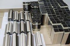 Aluminum Shapes Stock Photos