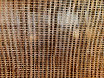 Aluminum sheet composed of a texture of small grids Stock Photos