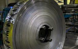 Aluminum sheet factory Stock Image