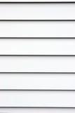 Aluminum Siding. Grey alumninum siding on a house; good for background Stock Photo
