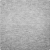 Aluminum silver background. Square format Stock Photos