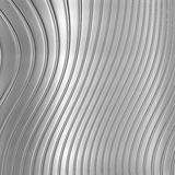 Aluminum silver stripe pattern. Background Royalty Free Stock Photo