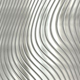 Aluminum silver stripe pattern Stock Images