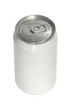 Aluminum soda can stock image