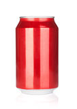 Aluminum soda can Royalty Free Stock Images