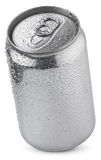 Aluminum  soda can Royalty Free Stock Photo
