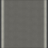 Aluminum speaker grill texture Stock Image