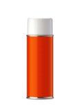 Aluminum spray can royalty free stock photo