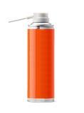 Aluminum spray can stock photography